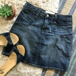 Anthropologie • Denim Skirt